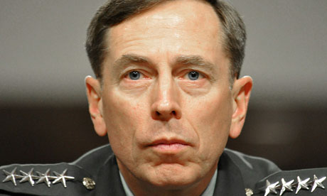 (FILES)US Army General David Petraeus, C
