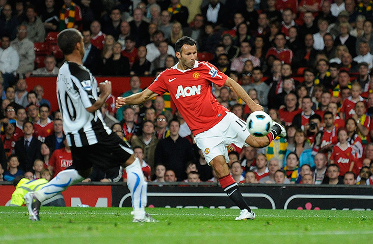 Giggs vs. Newcastle