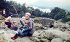Sara Kirkpatrick with her mother in the Lake District in 1978