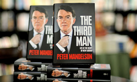 Peter Mandelson's memoir The Third Man