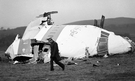 Lockerbie pan am 103 wreck