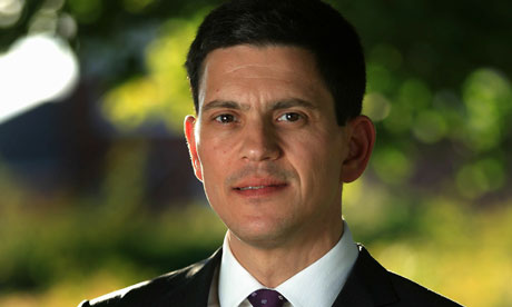 The Labour Leadership Candidate Portraits - David Miliband