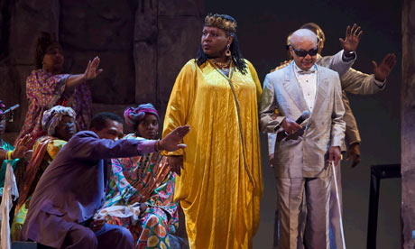 Making an entrance ... Lee Breuer's The Gospel at Colonus is one of the few shows to disturb