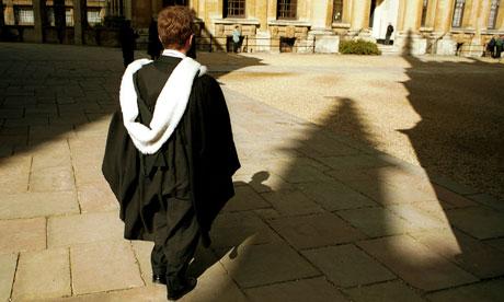 Oxford University student