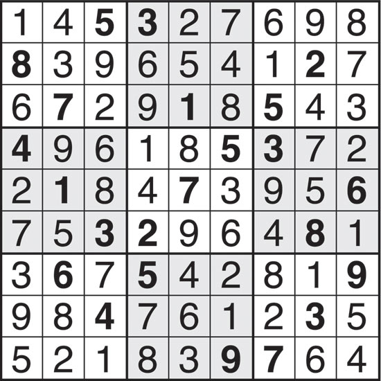 The world's hardest sudoku:
