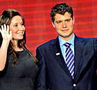 Bristol Palin and Levi Johnston in 2008