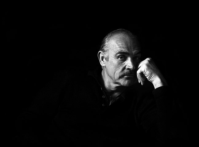 Sean Connery turns 80: Sean Connery photographed in 2006