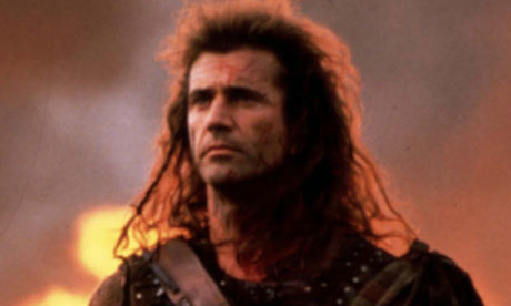 mel gibson braveheart pictures. Mel Gibson in Braveheart.