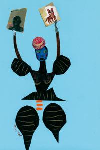 Lucy Mangan illustration: libraries