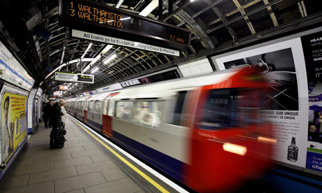 tube train london