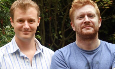 Quilliant founders Ben Oakshott and Chris Vannozzi