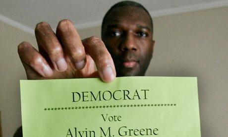 Alvin M Greene, South Carolina