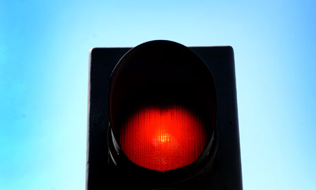 notes and queries red traffic lights