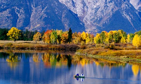 Grand Teton national park in Wyoming