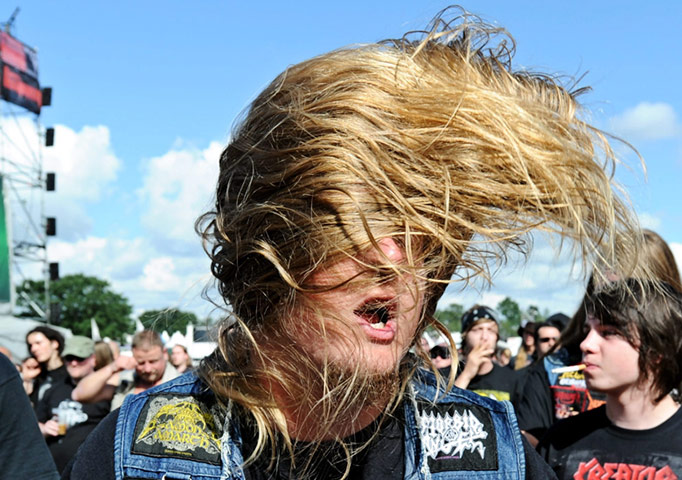 24 hours in pictures: Wacken 20010 Heavy Metal Festival