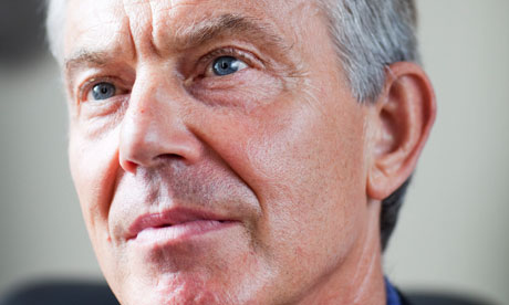 Tony Blair on 29 August 2010.