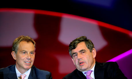 Tony Blair and Gordon Brown in 2006.