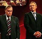 John Prescott and Tony Blair in 2006.