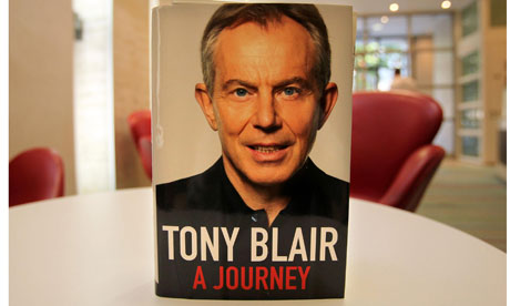 Tony Blair autobiography