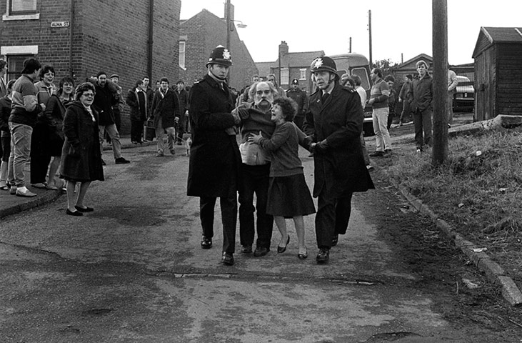 No redemption: Police clash with Easington residents