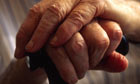 hands pensioner