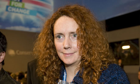 Rebekah Brooks, formerly Rebekah Wade