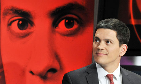 David Miliband, whose closest rival for the Labour leadership is his brother, Ed