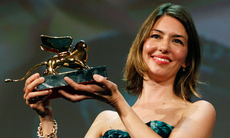 Sofia Coppola at the Venice film festival