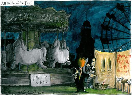 13.09.2010 Martin Rowson cartoon