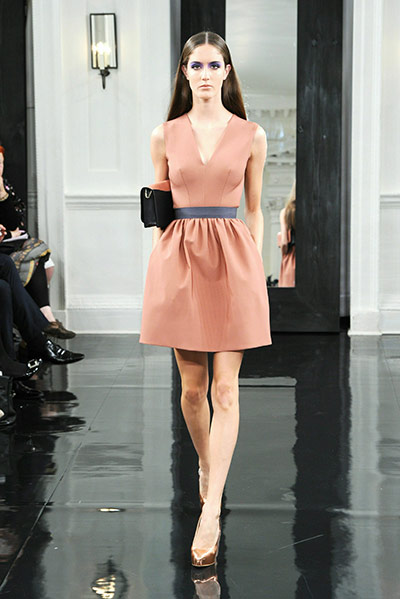 NY fashion week: Victoria Beckham's dresses