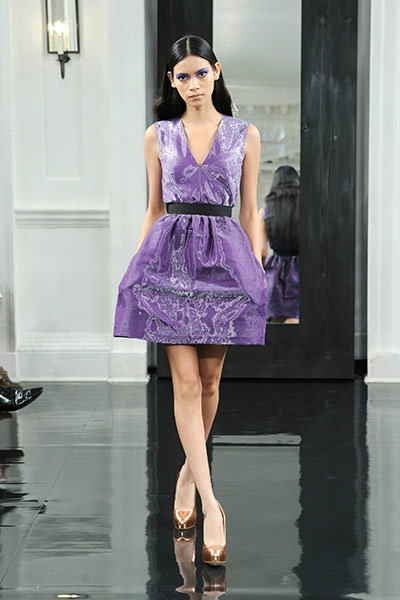 New York fashion week: Victoria Beckham spring collection 2011