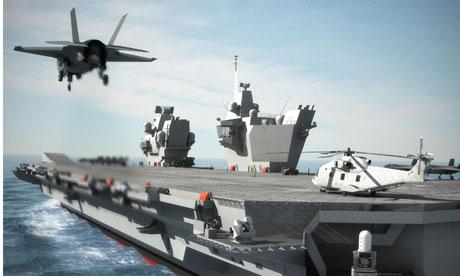 HMS Queen Elizabeth CGI