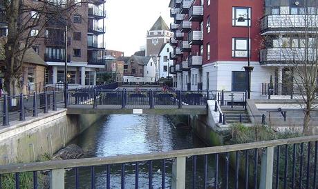 River Hogsmill, London