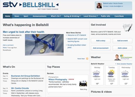 STV Bellshill: one of six new
