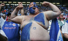 A Millwall supporter