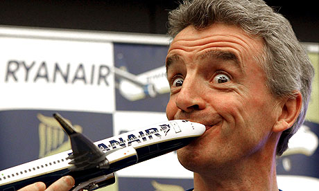 Michael O'Leary of Ryanair