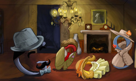 Google doodle to mark Agatha Christie's 120th anniversary