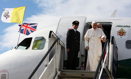 Papal visit to UK - Day One