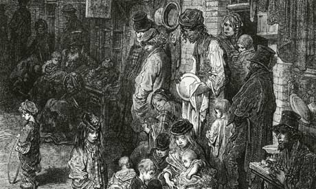 victorian poorhouse Gustave Dore