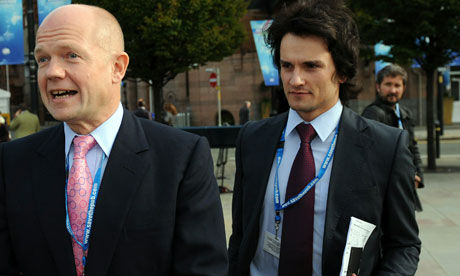 William Hague and Christopher Myers
