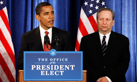 Larry Summers & Barack Obama