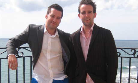Firetext's co-founders Dan Parker, marketing director, and James Huff, managing director