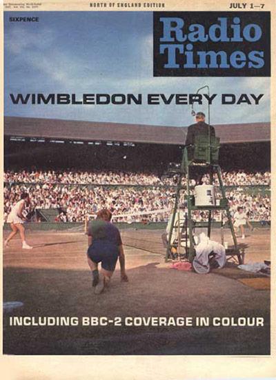 Radio Times - Wimbledon 1967