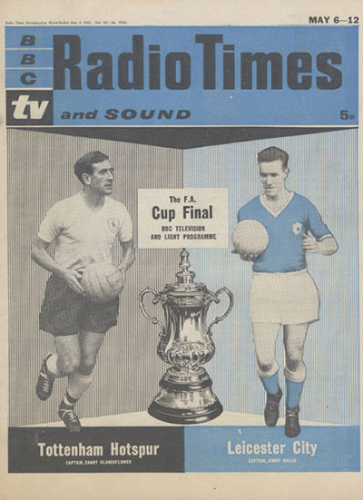 Radio Times Cup Final Edition 1956