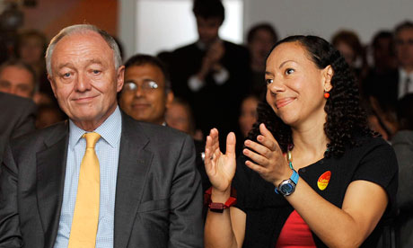 Ken Livingstone and Oona King