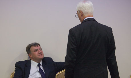 Ed Balls and Alistair Darling