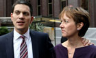 David Miliband and Louise Shackleton