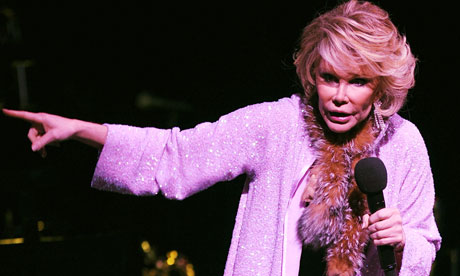Joan Rivers cable girl lucy mangan