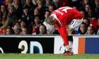 Wayne Rooney ankle