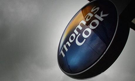 Thomas Cook shop sign